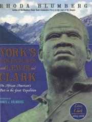Cover of: York's Adventures with Lewis and Clark