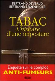 Cover of: Tabac, l'histoire d'une imposture