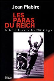 Cover of: Les paras du Reich