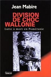 Cover of: Division de choc Wallonie