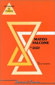 Cover of: Mateo Falcone
