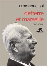 Cover of: Defferre et Marseille
