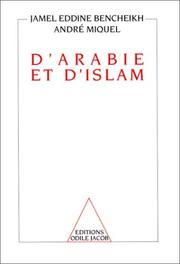 Cover of: D'Arabie et d'Islam