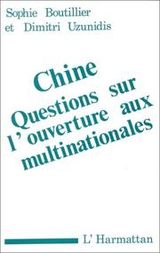 Cover of: Chine