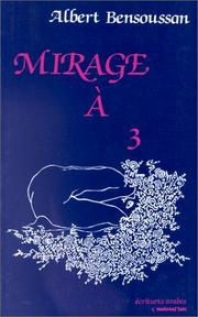 Cover of: Mirage à 3
