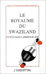 Cover of: Le royaume du Swaziland