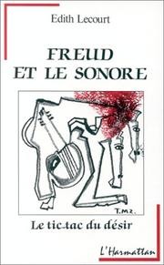 Cover of: Freud et l'univers sonore