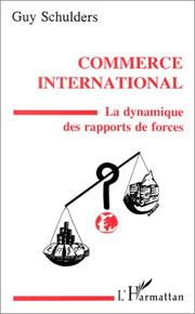 Cover of: Commerce international