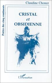 Cover of: Cristal et obsidienne