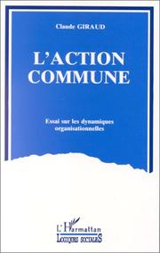 Cover of: L' action commune
