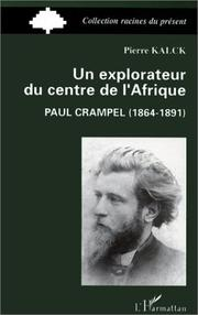 Cover of: Un explorateur du centre de l'Afrique