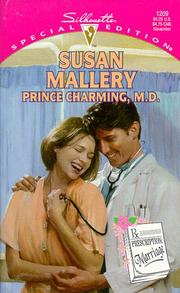 Cover of: Prince Charming M D (Prescription: Marriage)