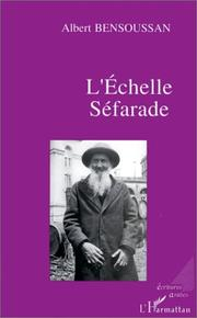 Cover of: L' échelle séfarade