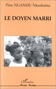 Cover of: Le doyen marri