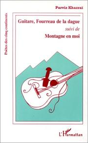 Cover of: Guitare, fourreau de la dague