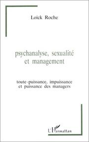 Cover of: Psychanalyse, sexualité et management