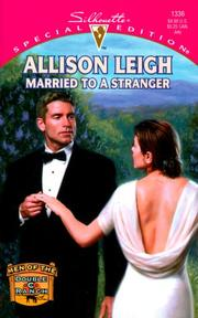 Cover of: Married To A Stranger (Men Of The Double-C Ranch) | Allison Leigh