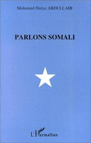 Cover of: Parlons somali