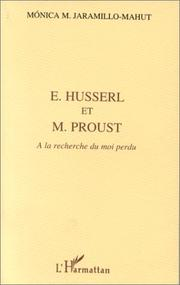 Cover of: E. Husserl et M. Proust