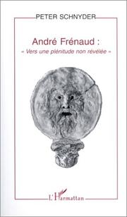 Cover of: André Frénaud