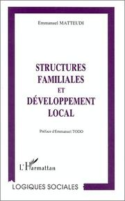 Cover of: Structures familiales et développement local