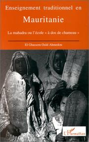 Cover of: Enseignment traditionnel en Mauritanie