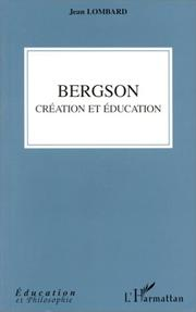 Cover of: Bergson