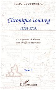 Cover of: Chronique touareg
