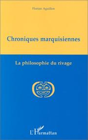 Cover of: Chroniques marquisiennes, 1978-1983