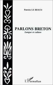 Cover of: Parlons breton
