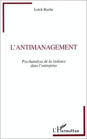 Cover of: L' antimanagement