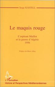Cover of: Le maquis rouge