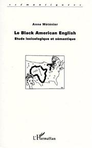 Cover of: Le Black American English