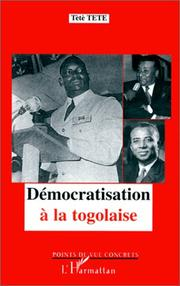 Cover of: Démocratisation à la togolaise