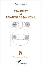 Cover of: Transfert et relation de sympathie