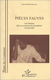 Cover of: Pièces fauves