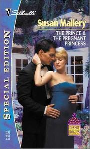 Cover of: The Prince & The Pregnant Princess (Desert Rogues, No. 6) by