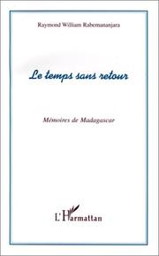 Cover of: Le temps sans retour