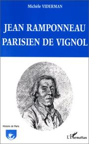 Cover of: Jean Ramponneau