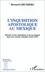 Cover of: L' inquisition apostolique au Mexique