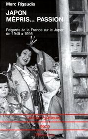 Cover of: Japon: Mepris-- passion
