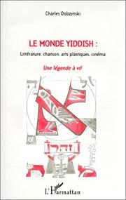 Cover of: Le monde yiddish
