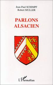 Cover of: Parlons alsacien