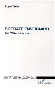Cover of: Socrate enseignant