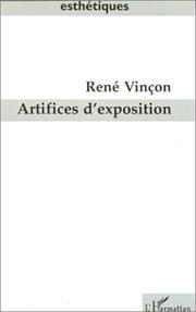 Cover of: Artifices d'exposition