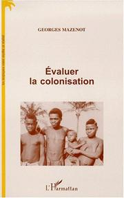 Cover of: Evaluer la colonisation