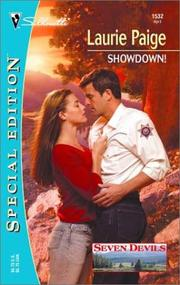 Cover of: Showdown! | Laurie Paige