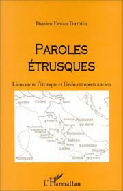 Cover of: Paroles étrusques
