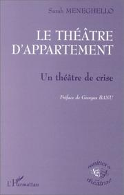 Cover of: Le théâtre d'appartement