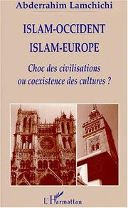 Cover of: Islam-Occident, Islam-Europe